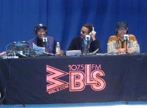 WBLS Open Line Live, Photo Credit: Melaine Morgan
